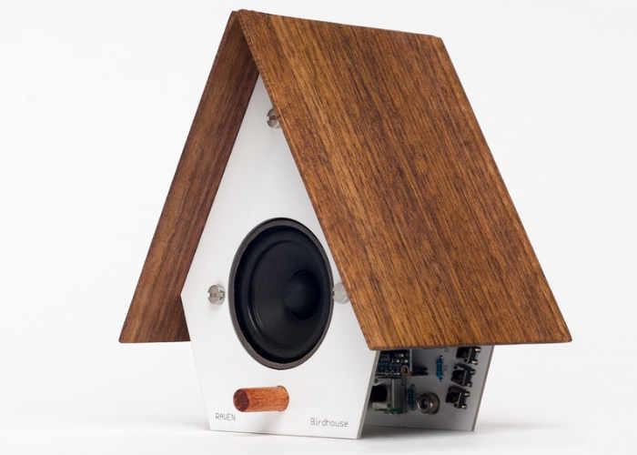 Unique Internet of Things Digital Bird House