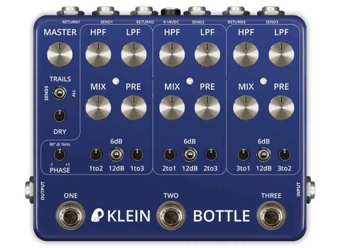 VFE Pedals Klein Bottle Multipath, Multiband Looper Mixer