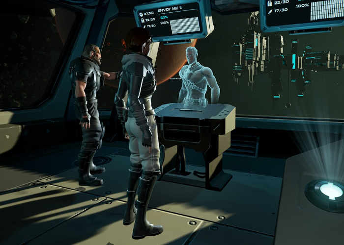 Virtual reality Co-Op Space Survival Game