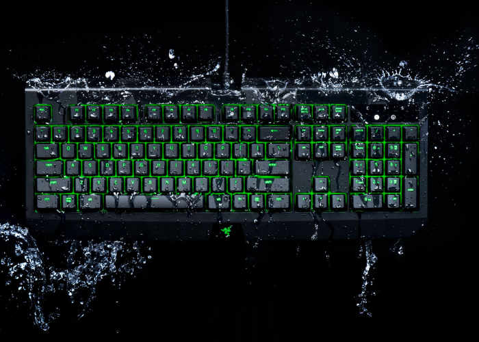Waterproof Razer BlackWidow Ultimate Mechanical Gaming Keyboard