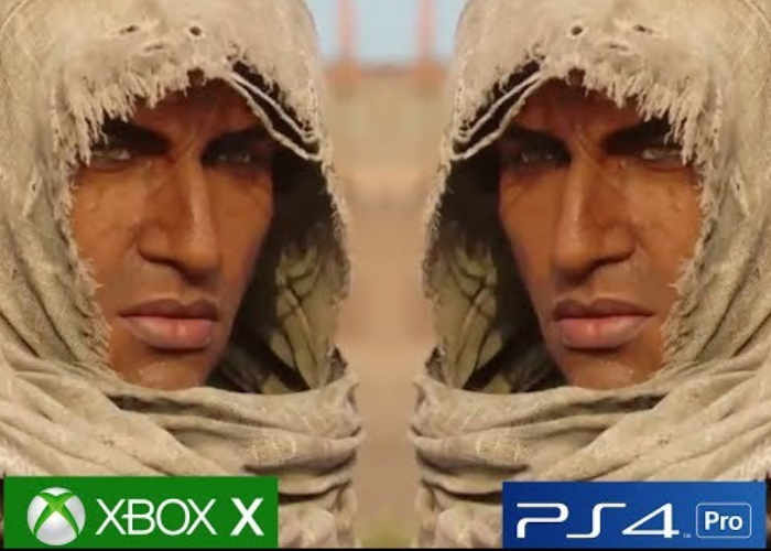 Xbox One X vs PS 4 Pro Compared Assassin's Creed Origins