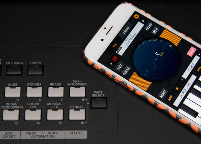 Yamaha MX88 Synthesiser Transforms Your iPhone Into An Instrument
