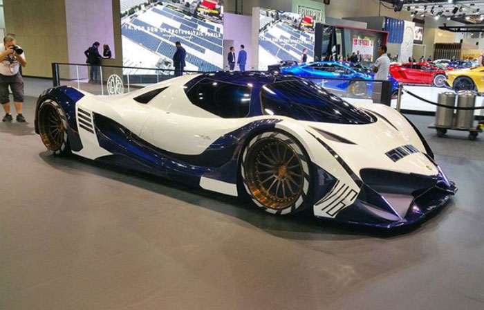 Devel Sixteen Makes 5,000 hp and Aims for 310 MPH - Geeky ...