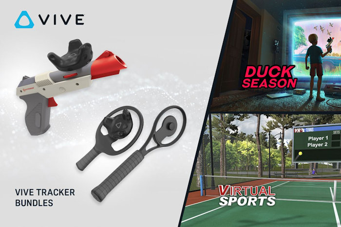HTC launches Vive tracker bundles