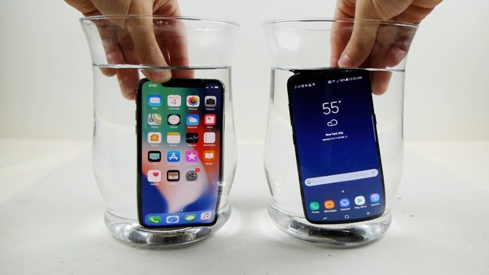 Phone X vs Samsung Galaxy S8