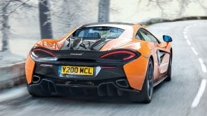 McLaren Offers 570S Winter Package