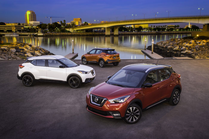 Nissan Kicks jukes its way into compact crossover lineup