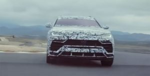 Lamborghini Urus Corsa Mode Reveals Styling