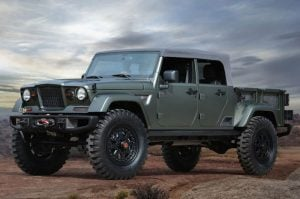 Jeep Wrangler Truck Could Get Soft Top