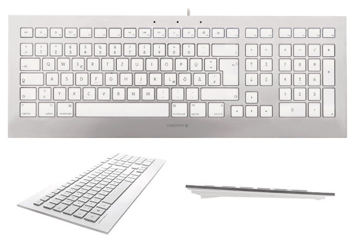 Cherry Strait 3.0 White Keyboard For Mac