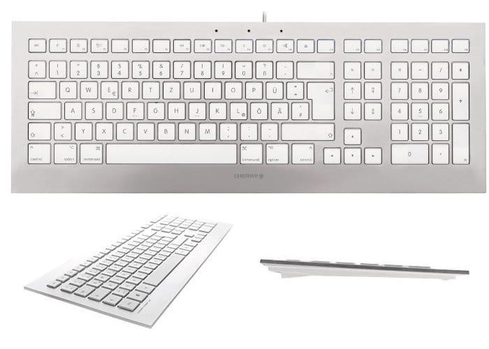 Cherry Strait 3.0 White Keyboard For Mac