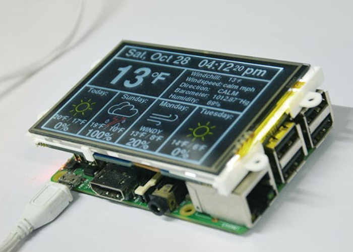 DIY Raspberry Pi Weather Station - Geeky Gadgets