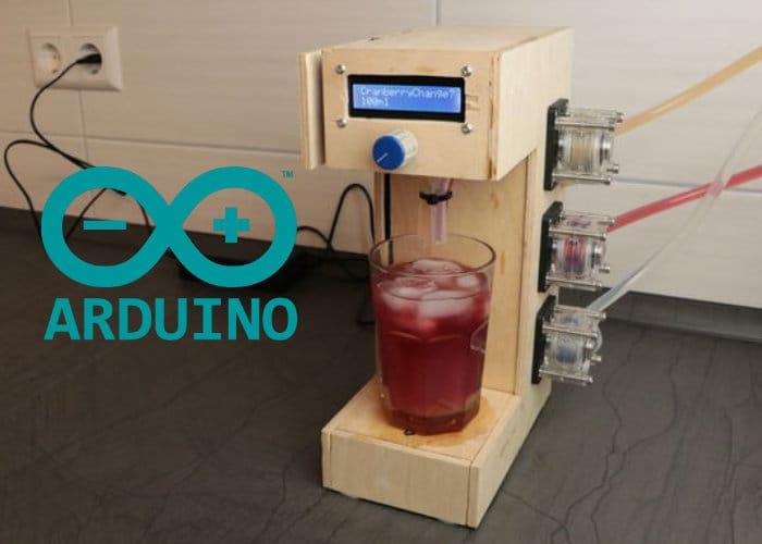 DIY Robot Cocktail Maker