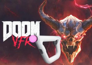 DOOM VFR PS4 Aim Controller Gameplay Demonstrated