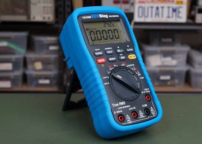 EEVblog 121GW Bluetooth Multimeter