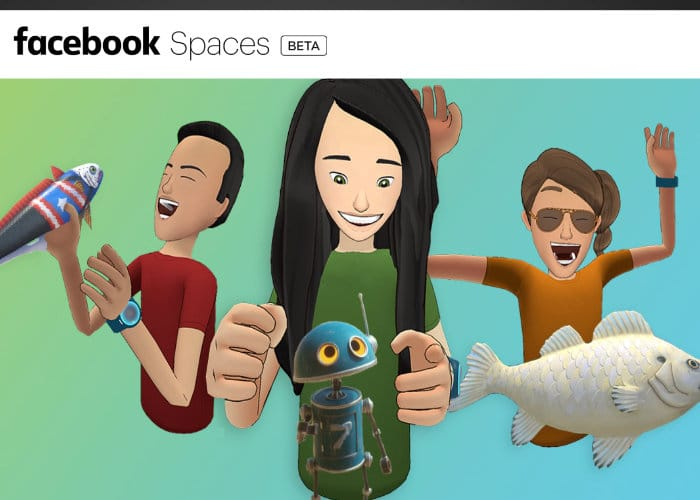 Facebook Spaces VR App Now Available For HTC Vive - Geeky