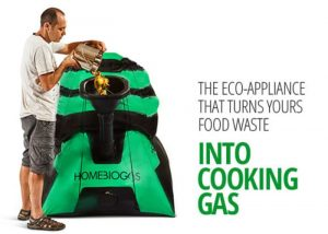 HomeBiogas Transforms Waste Food Into Cooking Gas From Your Backyard