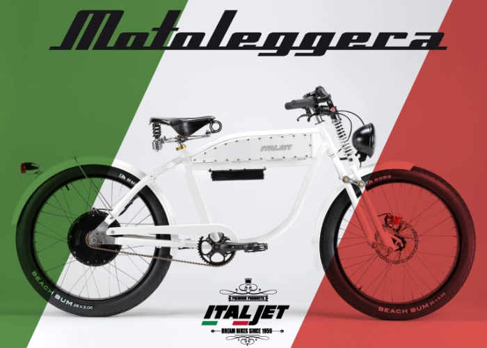 ITALJET Motoleggera Electric Bike