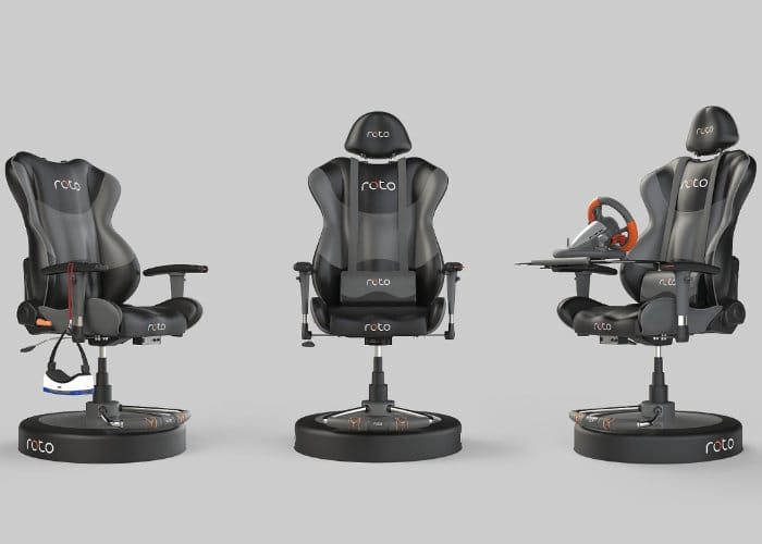 Interactive Roto VR Chair