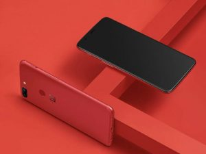 Lava Red OnePlus 5T Launches December 17th