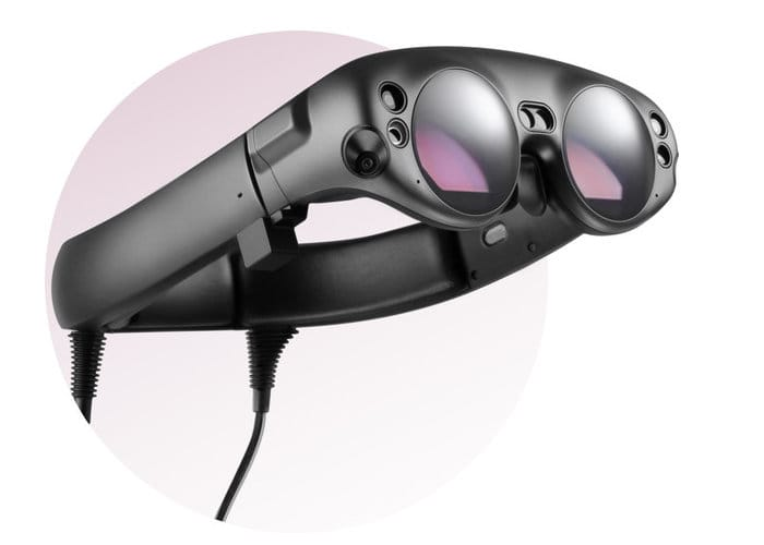 Magic Leap Mixed Reality Headset Revealed