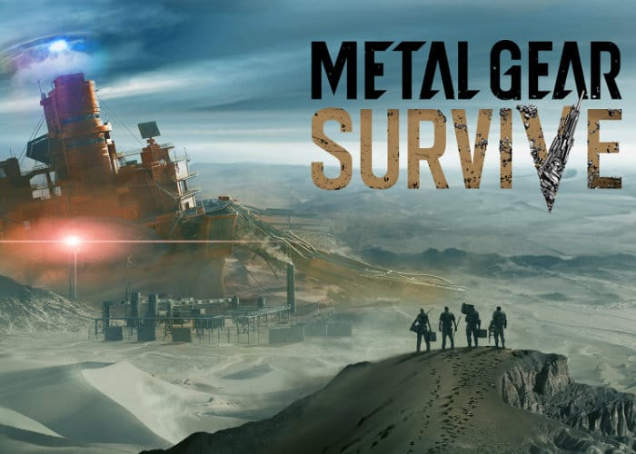 Metal Gear Survive beta to be held in January 2018