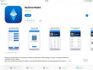 Fake Version of MyEtherWallet Appears In Apple's App Store (Updated)