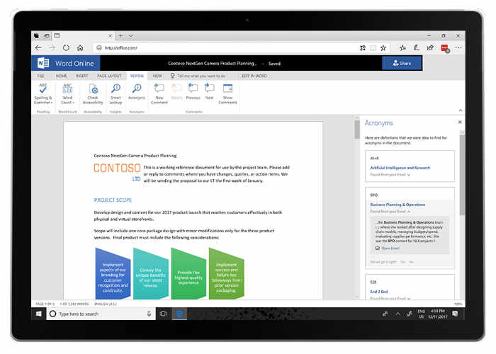 New Artificial Intelligence Features To Office 365