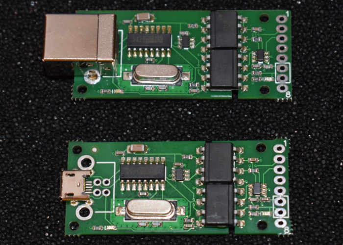 Optically Isolated USB To Serial Adapter