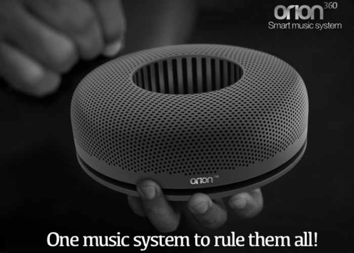 Orion360 Artificial Intelligent Smart Speaker