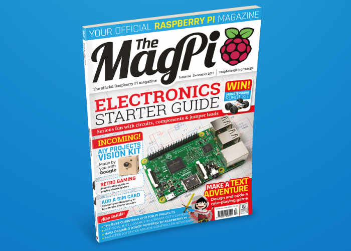Raspberry Pi Magazine Issue 64