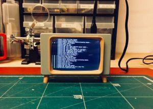 Retro TV Raspberry Pi Touchscreen Case Created