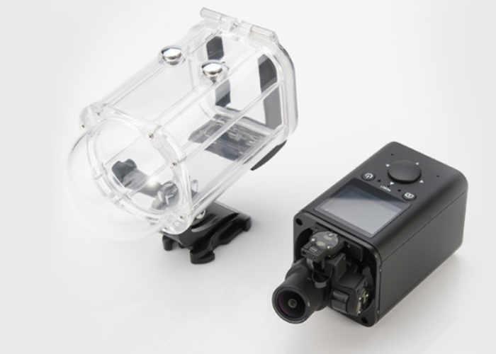 Self Stabilising 4K Action Camera