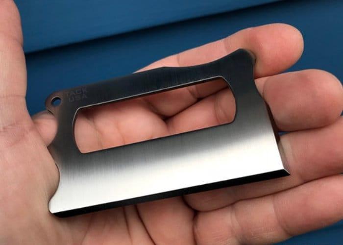 TACK Titanium Wallet Multitool