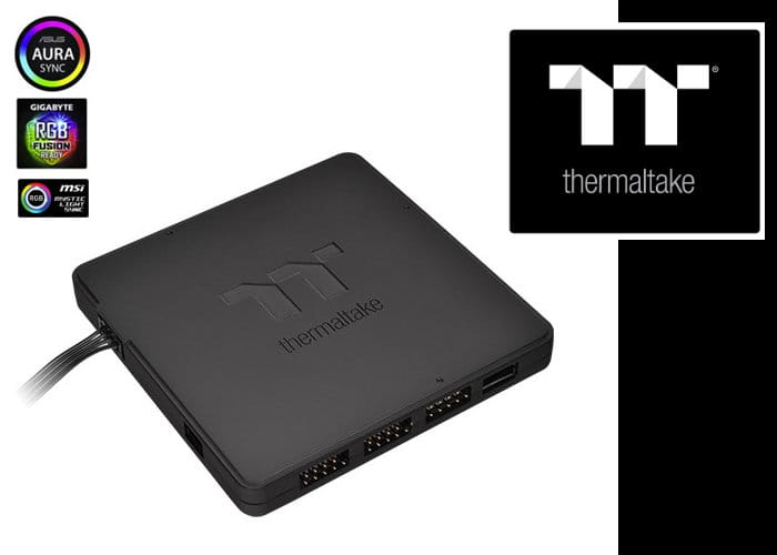 Thermaltake 9 Port LED Hub