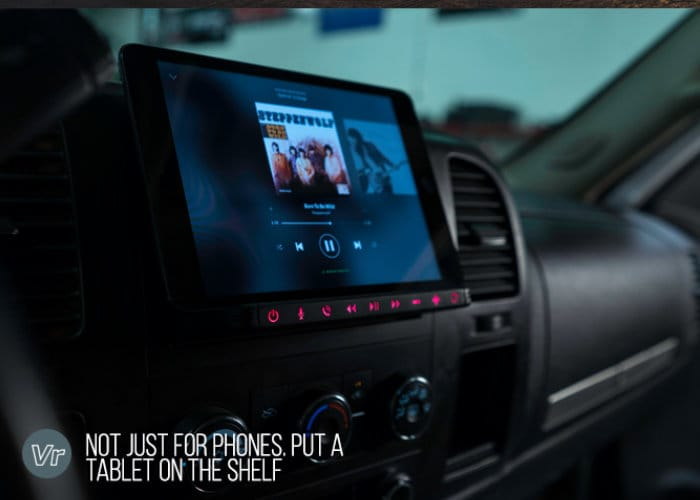 Vehroot Shelf Smartphone Car Stereo