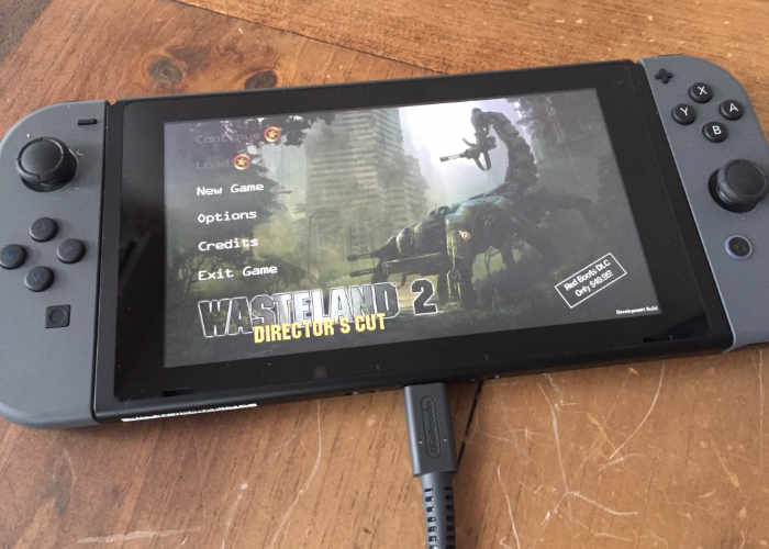 Wasteland 2 Game Teased On Nintendo Switch