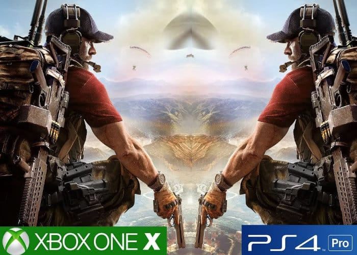 Xbox One X vs PS4 Pro Ghost Recon Wildlands