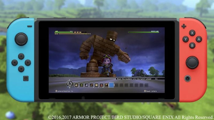 Dragon Quest Builders Constructs February Release Outside Japan