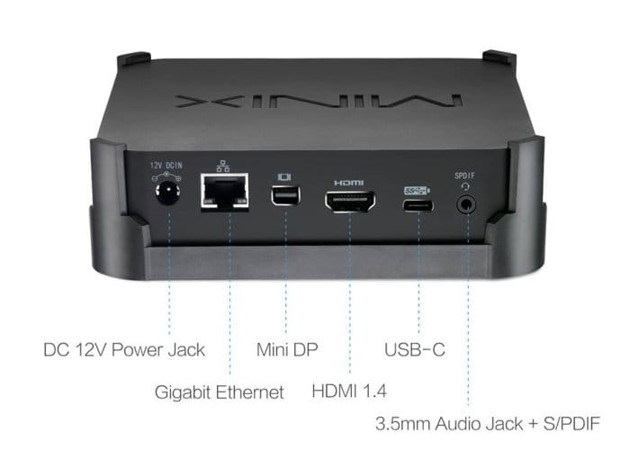 fanless Minix Neo N42C-4 mini PC