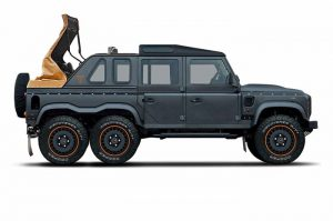 Khan Automobiles Teases a Soft-Top 6×6 Flying Huntsman