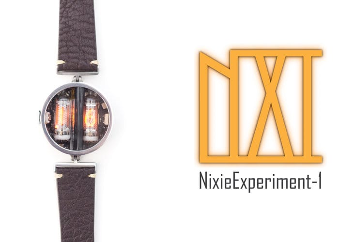 nixie tube watch
