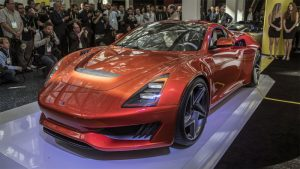 Saleen 1 Mid-Engine Sports Car has 450hp Turbo Four