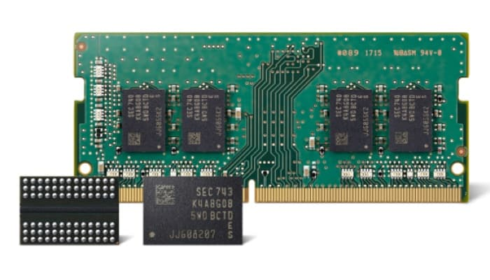 Samsung is producing more efficient 2nd gen DDR4 DRAM