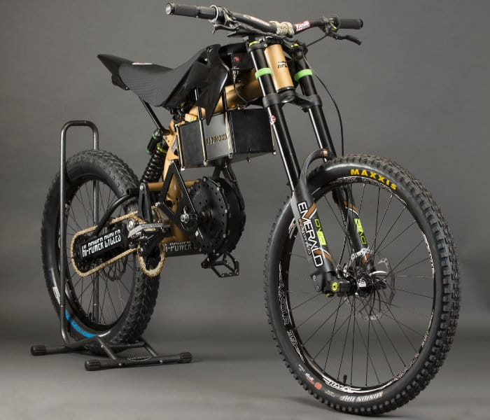 2018 HPC Typhoo Pro Offroad Electric Bike Launches For $11,500