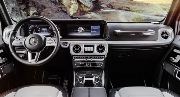 New Mercedes G Class