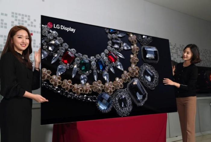 88-inch 8K OLED Display
