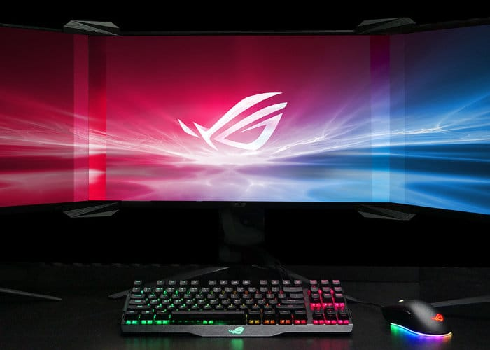 Asus ROG Bezel-Free Kit Neatly Hides Monitor Joins
