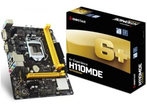 BioStar H110MDE SATA3 Motherboard Unveiled For $55