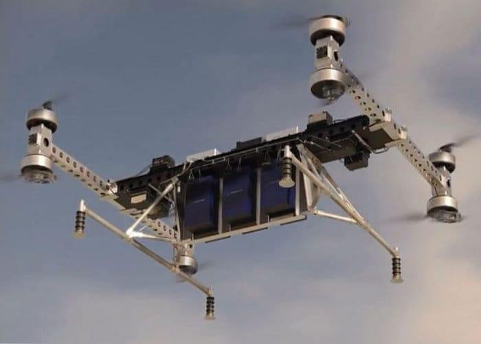 Boeing Autonomous Cargo Drone Prototype